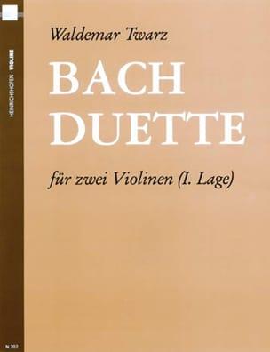 Bach-Duette - 2 Violinen laflutedepan