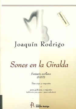 Sones en la Giralda - Arpa o Guitarra e piano RODRIGO laflutedepan