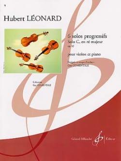 Solo C en ré majeur, op. 62 Hubert Léonard Partition laflutedepan