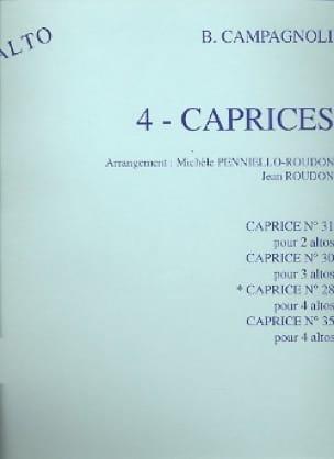 4 Caprices n° 31 op. 22 - 2 Altos - laflutedepan.com