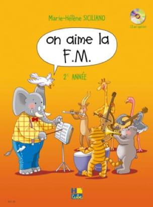 On Aime la FM - Volume 2 - SICILIANO - Partition - laflutedepan.com