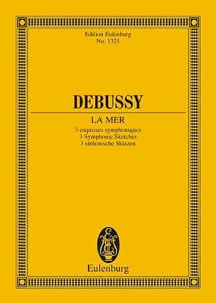 La Mer - DEBUSSY - Partition - Petit format - laflutedepan.com