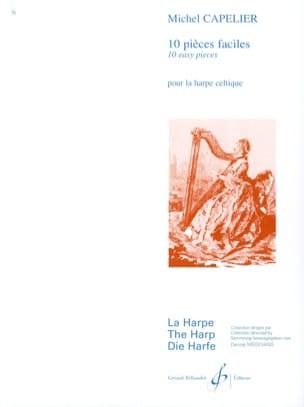 10 Pièces faciles Michel Capelier Partition Harpe - laflutedepan