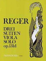 3 Suiten op. 131d - Max Reger - Partition - Alto - laflutedepan.com