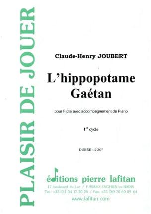 L' hippopotame Gaétan Claude-Henry Joubert Partition laflutedepan