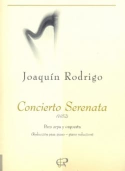 Concierto Serenata para arpa -reducc. piano RODRIGO laflutedepan