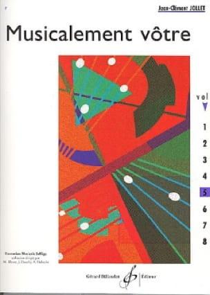 Musicalement Vôtre Volume 5 - Jean-Clément Jollet - laflutedepan.com