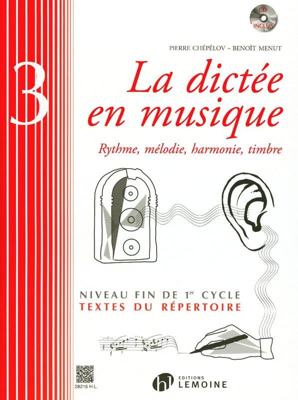 La Dictée en Musique Volume 3 - laflutedepan.com