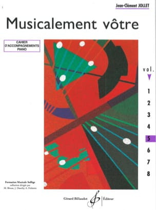 Musicalement Vôtre Volume 5 - Prof Jean-Clément Jollet laflutedepan