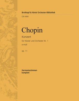 Klavierkonzert Nr. 1 e-moll op 11 - CHOPIN - laflutedepan.com