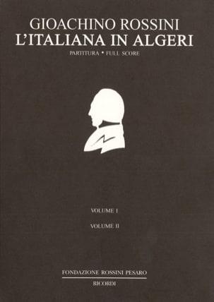 L' Italienne à Alger ROSSINI Partition Grand format - laflutedepan