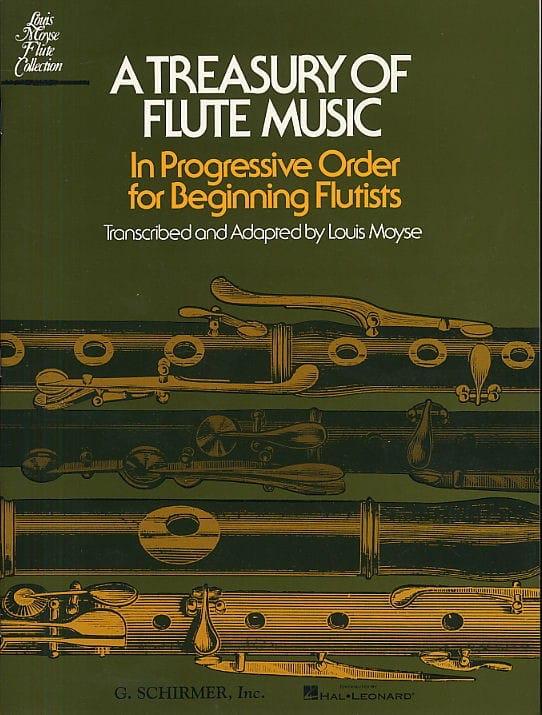 A Treasury of Flute Music - Louis Moyse - Partition - laflutedepan.com