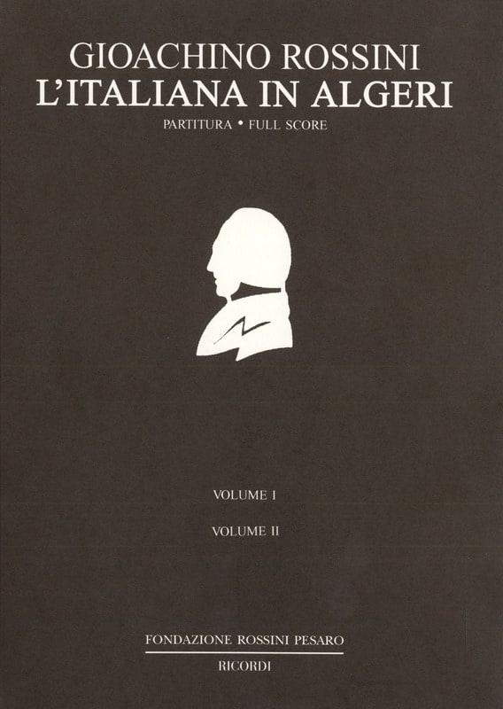 L' Italienne à Alger - ROSSINI - Partition - laflutedepan.com