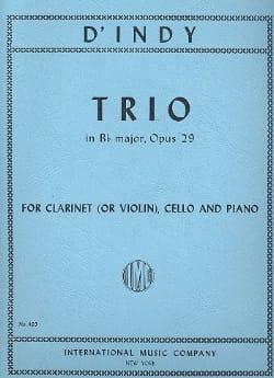 Trio en Sib M., Op. 29 - Clarinette ou Violon, Violoncelle et Piano laflutedepan