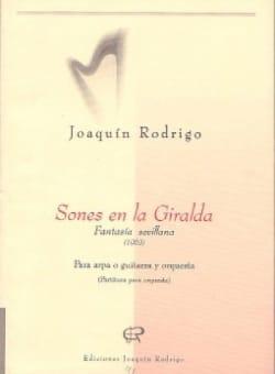Sones en la Giralda -Arpa piano RODRIGO Partition laflutedepan