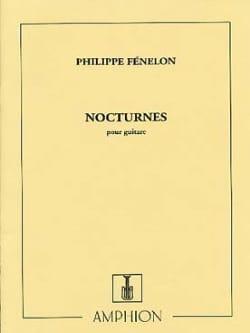 Nocturnes Philippe Fénelon Partition laflutedepan
