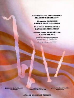 Allegro Partita n° 4 / Choeur des villageois / Danse des mirlitons ... - laflutedepan.com