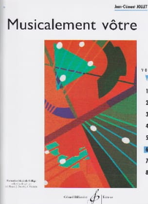 Musicalement Vôtre Volume 6 - Jean-Clément Jollet - laflutedepan.com