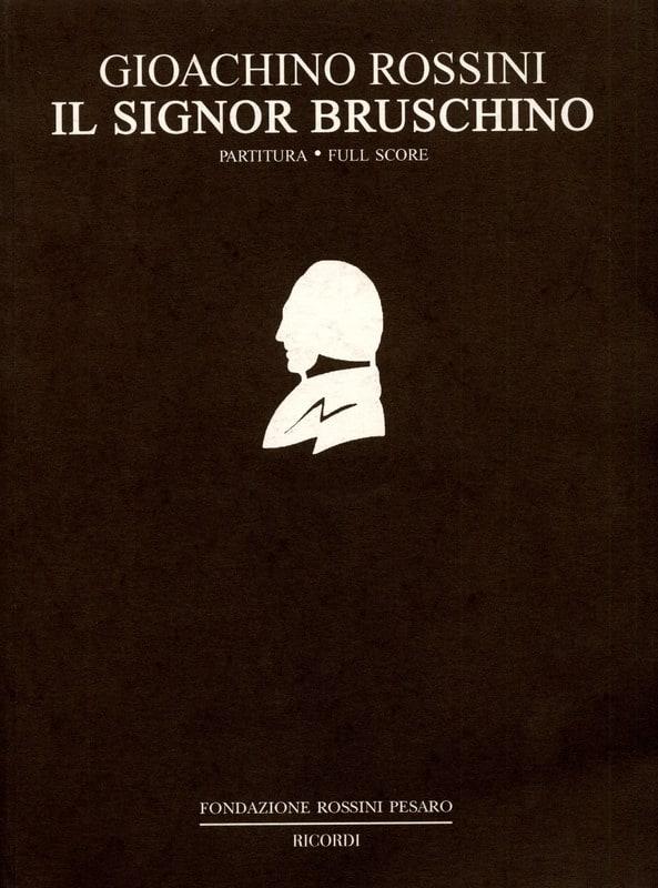 Il Signor Bruschino - Partitura - ROSSINI - laflutedepan.com