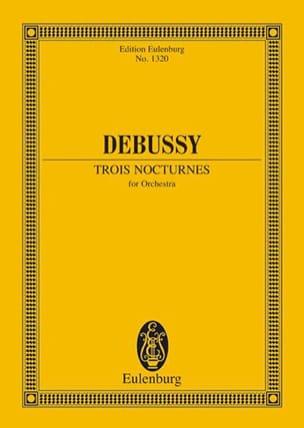 Trois Nocturnes DEBUSSY Partition Petit format - laflutedepan