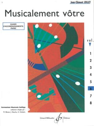 Musicalement Vôtre Volume 6 - Prof - laflutedepan.com