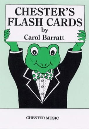 Chesters Flashcards - Carol Barratt - Partition - laflutedepan.com