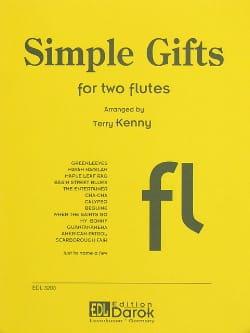 Simple Gifts - 2 Flutes Partition Flûte traversière - laflutedepan