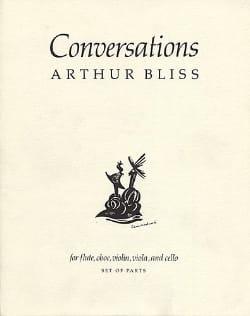 Conversations Arthur Bliss Partition Quintettes - laflutedepan