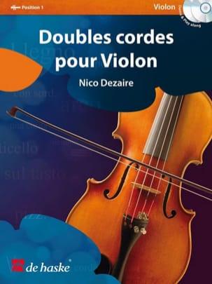 Doubles cordes pour violon Nico Dezaire Partition laflutedepan