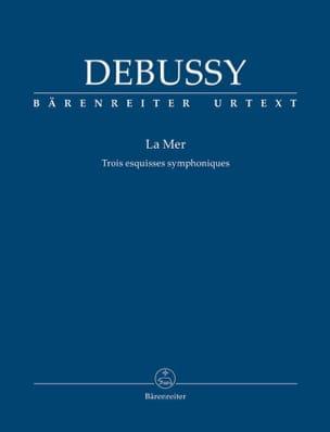 La Mer - Conducteur poche DEBUSSY Partition laflutedepan