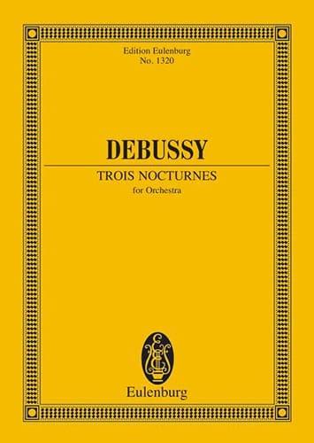 Trois Nocturnes - DEBUSSY - Partition - laflutedepan.com