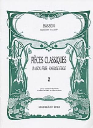 Pièces Classiques Volume 2 -basson - Partition - laflutedepan.com