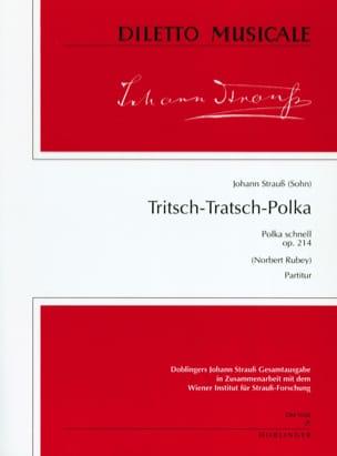 Tritsch-Tratsch Polka, op. 214 - Partitur laflutedepan