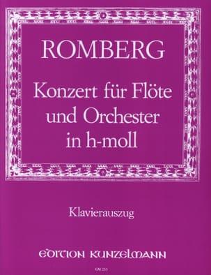 Concerto en Si Min. Opus 30 ROMBERG Partition laflutedepan