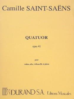 Quatuor op. 41 -Parties SAINT-SAËNS Partition Quatuors - laflutedepan