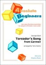 Toreador's Song extr. de Carmen - BIZET - Partition - laflutedepan.com