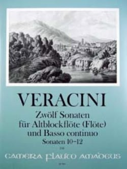12 Sonates Vol.4 - 10-12 Francesco Maria Veracini laflutedepan