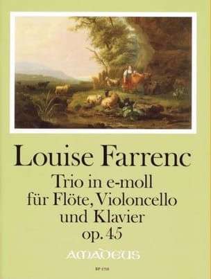 Trio op. 45 Louise Farrenc Partition Trios - laflutedepan
