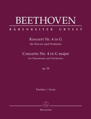 Concerto pour piano n° 4 en Sol Majeur, op. 58 BEETHOVEN laflutedepan