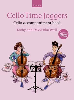 Cello Time Joggers - Cello accompaniment book Partition laflutedepan