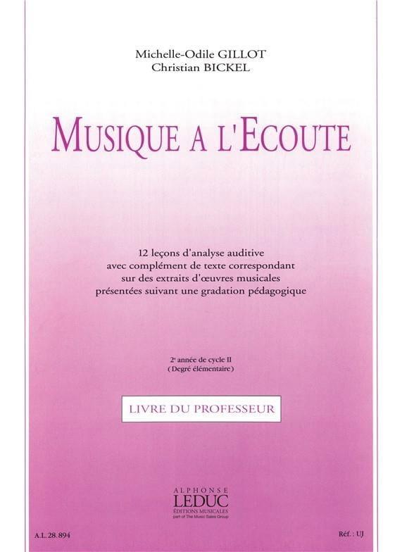 Musique à l'Ecoute - Elém. + K7 - Professeur - laflutedepan.com