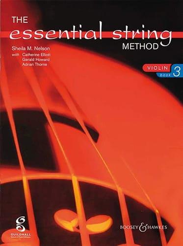 Essential string method, Volume 3 - Violin - laflutedepan.com