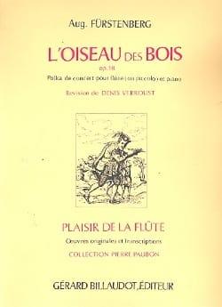 L' oiseau des bois, op. 18 Aug. Furstenberg Partition laflutedepan