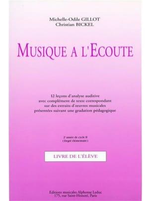 Musique à l'Ecoute - Elém. 2ème Année Cycle 2 - laflutedepan.com