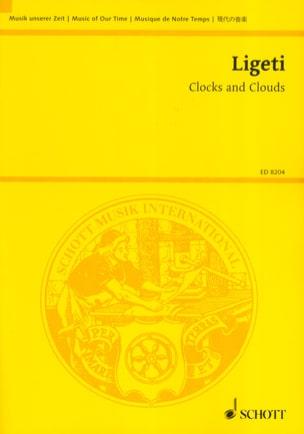 Clocks and Clouds LIGETI Partition Grand format - laflutedepan