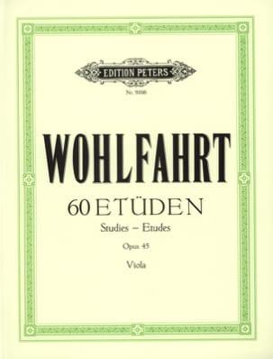 60 études op. 45 - Alto Spindler Franz Wohlfahrt laflutedepan