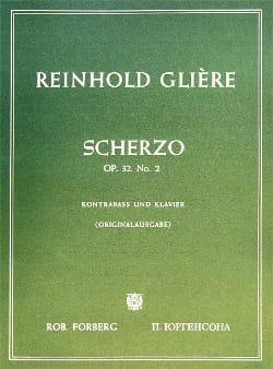 Reinhold Glière - Scherzo op. 32 n ° 2 - Partition - di-arezzo.co.uk