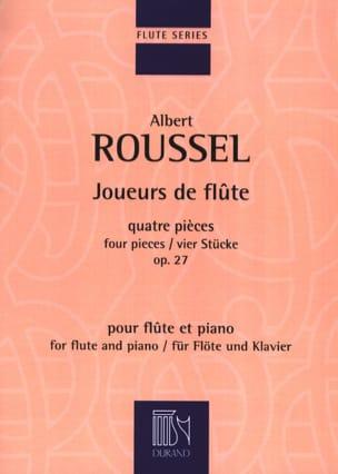 Joueurs de Flûte ROUSSEL Partition Flûte traversière - laflutedepan