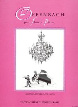 Offenbach pour Flûte et piano laflutedepan
