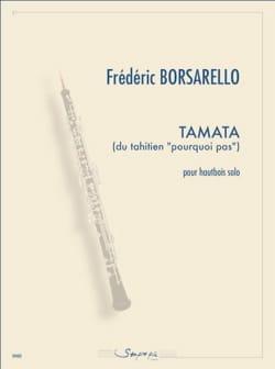 Tamata Frédéric Borsarello Partition Hautbois - laflutedepan